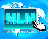 Multi Level Marketing Represents Web Site And Www Royalty Free Stock Photos