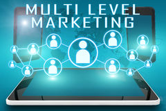 Multi Level Marketing Stock Photo