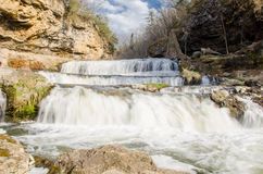 Multi level waterfall Royalty Free Stock Photography