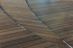 Multi levels Wood  Panel at Mori Tower in Roppongi Hills, Tokyo, Stock Image