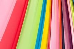 Multi levendige kleurenstof Stock Afbeelding
