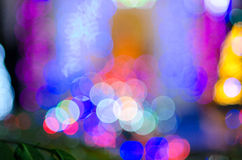 Multi lichte flits & x28; Bekeh & x29; Stock Foto