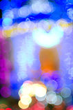 Multi light flash & x28;Bekeh & x29; Royalty Free Stock Photography