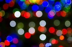 Multi light flash & x28;Bekeh & x29; Stock Image