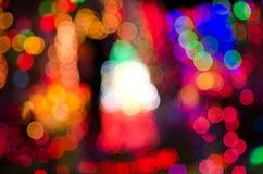 Multi light flash & x28;Bekeh & x29; Stock Photo