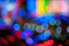 Multi light flash & x28;Bekeh & x29; Stock Photography