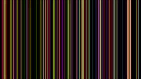 Multi linha colorida vertical abstrata laço do fundo ilustração royalty free