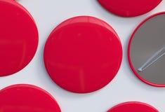 Multi lollypops colorati di forma del cuore Immagini Stock Libere da Diritti