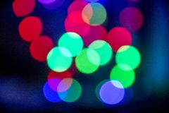 Multi luci colorate Fotografia Stock Libera da Diritti