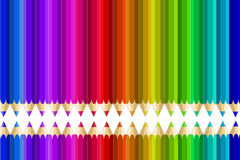 Multi matite di colore Immagine Stock Libera da Diritti
