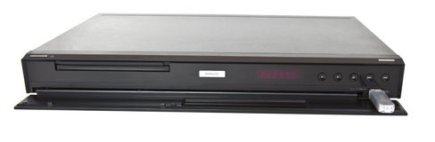 Multi Media Blue Ray Player Stock Photo