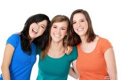 Multi melhor amigo racial de três meninas Imagem de Stock Royalty Free