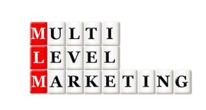 Multi mercado nivelado Foto de Stock Royalty Free