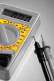 Multi meter with selective colour Royalty Free Stock Photos