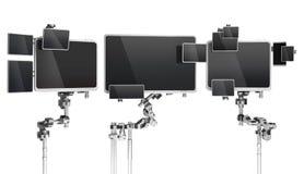 Multi-monitores Ilustração do Vetor
