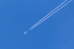 Multi-motorvliegtuig Stock Foto