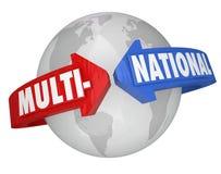 Multi-National Company International Business Trade Corporation Stock Photography