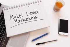 Multi niveau marketing Royalty-vrije Stock Fotografie