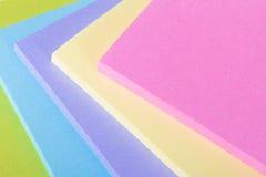 Multi note di Post-it colorate Immagine Stock Libera da Diritti