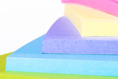 Multi note di Post-it colorate Fotografia Stock Libera da Diritti