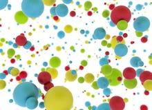 Multi palle di colore royalty illustrazione gratis