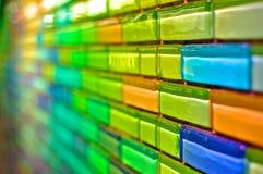 Multi parede colorida Foto de Stock Royalty Free
