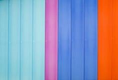 Multi parede colorida Imagens de Stock Royalty Free