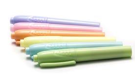 Multi penna di colore Immagine Stock