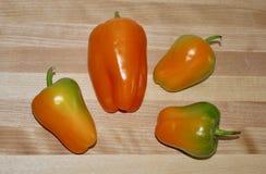 Multi peperoni di colore immagini stock