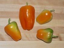 Multi peperoni di colore immagine stock