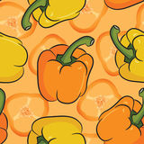 Multi peppers Royalty Free Stock Images