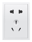 Multi plug socket, China Royalty Free Stock Images