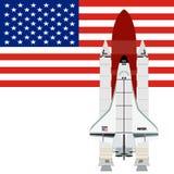 Multi-purpose aerospace system Space Shuttle Stock Photos