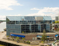 A multi-purpose building at vancouver's waterfront Royalty Free Stock Images