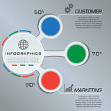 Multi Purpose Infographic Vector Design Template Royalty Free Stock Images