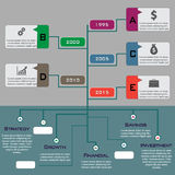 Multi Purpose Infographic Vector Design Template Stock Image
