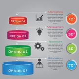 Multi Purpose Infographic Vector Design Template Royalty Free Stock Photography