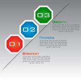 Multi Purpose Infographic Vector Design Template Stock Photography