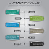 Multi Purpose Infographic Vector Design Template Stock Photography