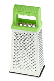 Multi purpose stainless steel grater Royalty Free Stock Image