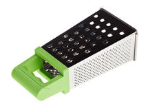 Multi purpose stainless steel grater Royalty Free Stock Photography