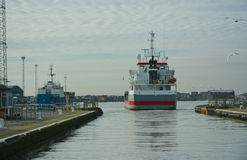 Multi purpose vessel stern Royalty Free Stock Images