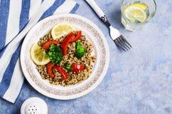 Multi quinoa colorido cozinhado Fotografia de Stock Royalty Free