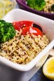 Multi quinoa colorido cozinhado Fotos de Stock