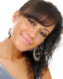 Multi-racial girl portrait Stock Photo
