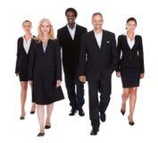 Multi-racial groep bedrijfsmensen royalty-vrije stock afbeelding