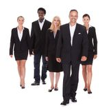Multi-racial group of business people Royalty Free Stock Photo