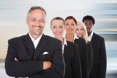 Multi-racial Group Of Business People Stock Photo