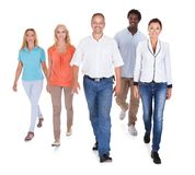 Multi-racial group of people Stock Photo