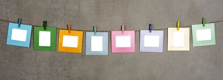Multi Rahmen des farbigen Fotos Lizenzfreie Stockfotos